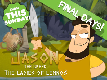 Jason The Greek - Point'n'Click Adventures in Ancient Greece by Kristian Fosh — Kickstarter